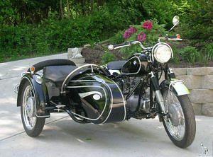 BMW R67/3 with sidecar (1955-56)