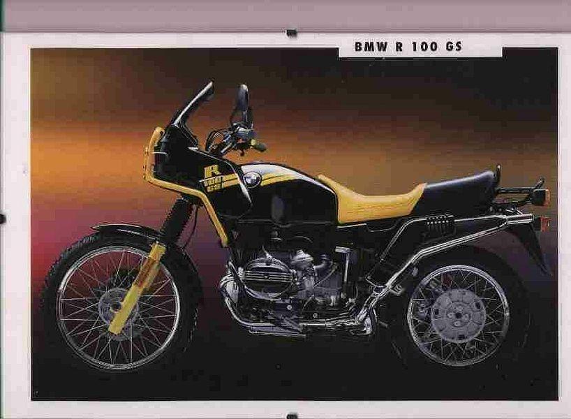 BMW R100GS (1991-92)