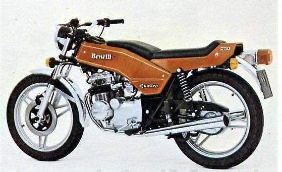 Benelli 250 Quatro (1975)