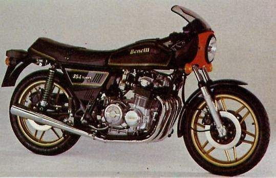 Benelli 354 Sport II (1980-85)