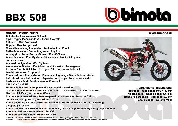 Bimota BBX 508 (2012)