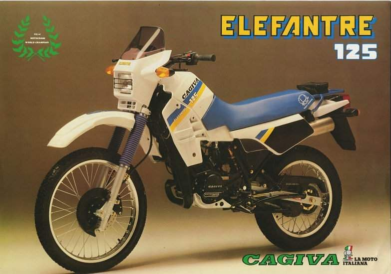 Cagiva Elefant 125 (1987-88)
