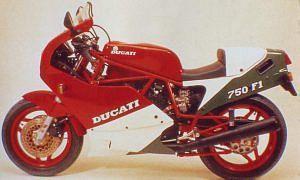 Ducati 750 F1 Desmo (1987)
