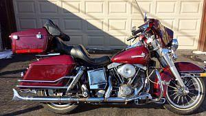 Harley Davidson FLHS 1340 Electra Glide (1983-86)