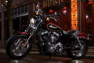 Harley Davidson XL 1200C Sportster Custom (2014-15)