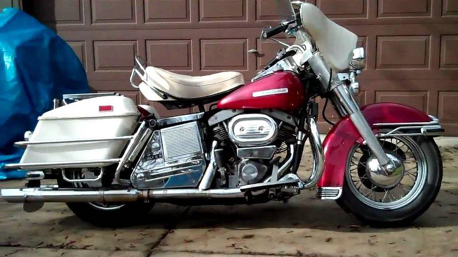Harley Davidson FLH 1200 Electra Glide (1970)
