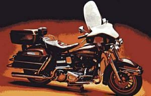 Harley Davidson FLH 1200 Electra Glide (1974)