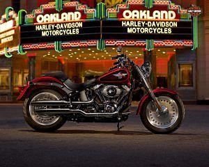 Harley Davidson Softail Fat Boy (2013)