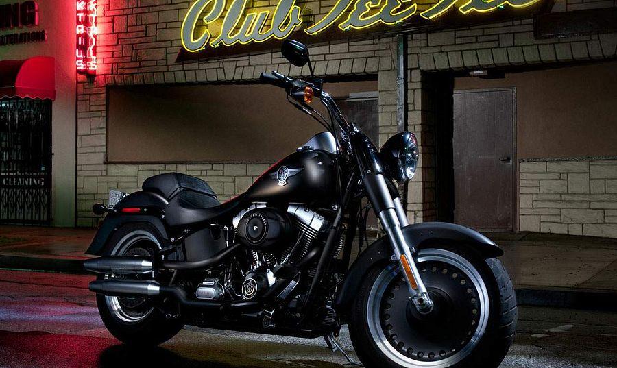 Harley Davidson FLSTFB Softail Fat Boy Lo (2013)