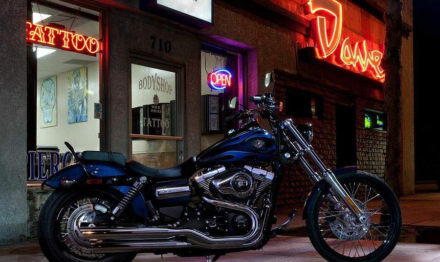 Harley Davidson FXDWG Dyna Wide Glide (2012)