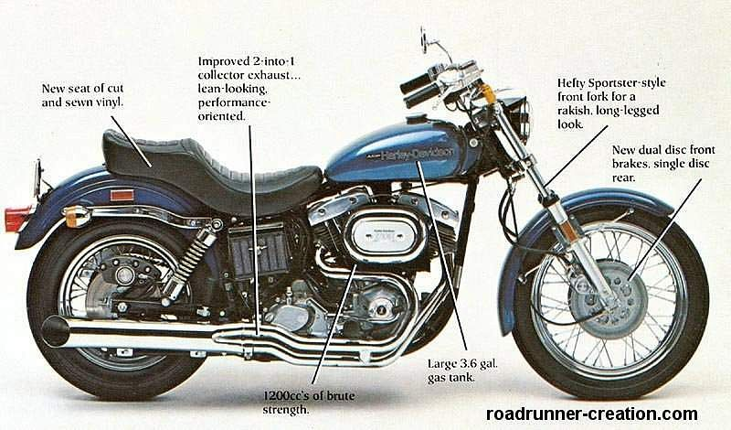 Harley Davidson FXE 1340 Super Glide 1981 (1980-83)