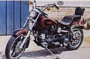 Harley Davidson FXS 80 Low Rider (1980-82)