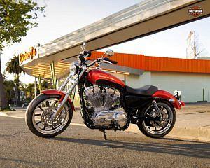 Harley Davidson XL 883L Sportster SuperLow (2013)