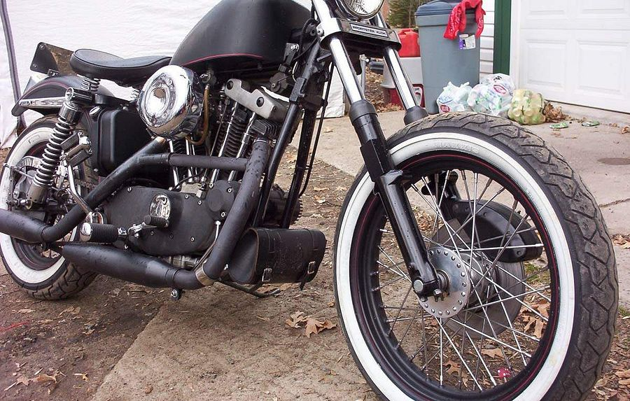 Harley Davidson XLCH 1000 Sportster (1972)