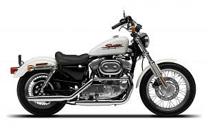 Harley Davidson XL 883 Sportster Hugger (2001-02)
