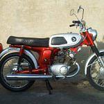 Honda CB125S (1970-71)