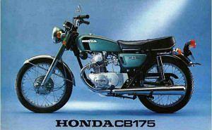 Honda CB200 (1969-73)
