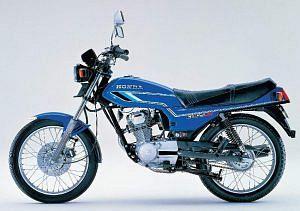 Honda CB125 (1981)