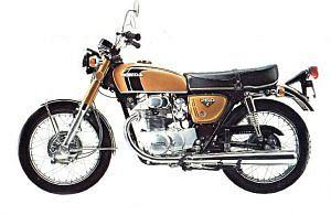 Honda CB250G (1972-73)