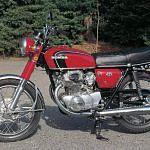 Honda CB350 (1970-71)