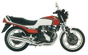 Honda CBX550 (1984-86)