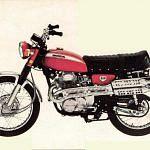 Honda CL 350 (1970-73)