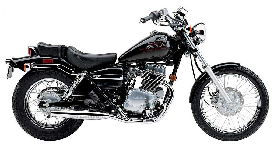 Honda CMX 250 Rebel (2001-03) - MotorcycleSpecifications com