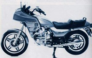 Honda GL500 Silver Wing (1981-82)