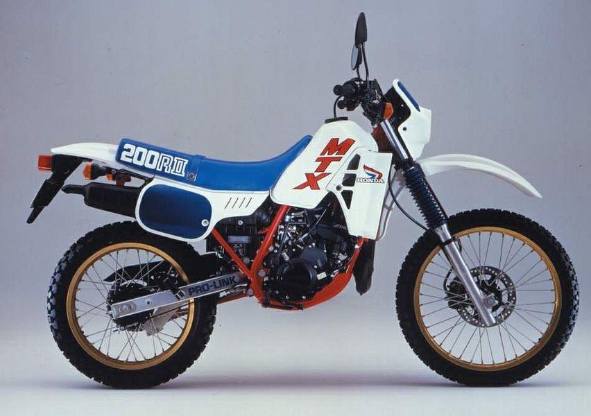 Honda MTX200R (1983-84)