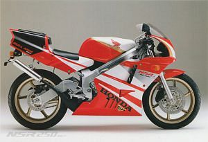 Honda NR 250SP Rothmans Replica (1992)