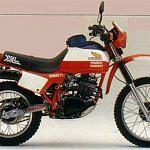 Honda XL250R Paris Dakar (1982)