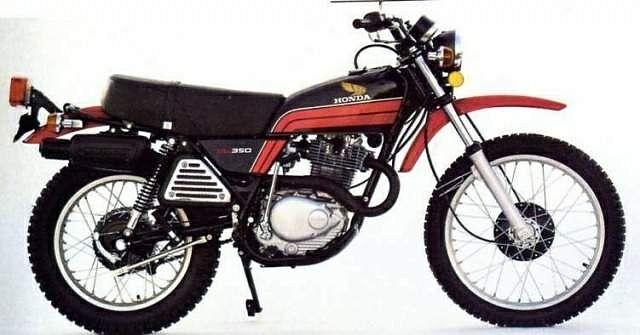 Honda XL 350 (1976-78)