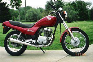 Honda CB250SC Nighthawk (1990-95)
