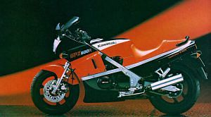 Kawasaki GPX 600R Ninja (1985-86)