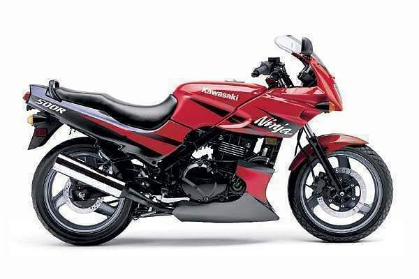 Kawasaki EX500 Ninja (1996-97)