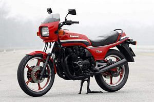 Kawasaki Z550 GP (1981-82)