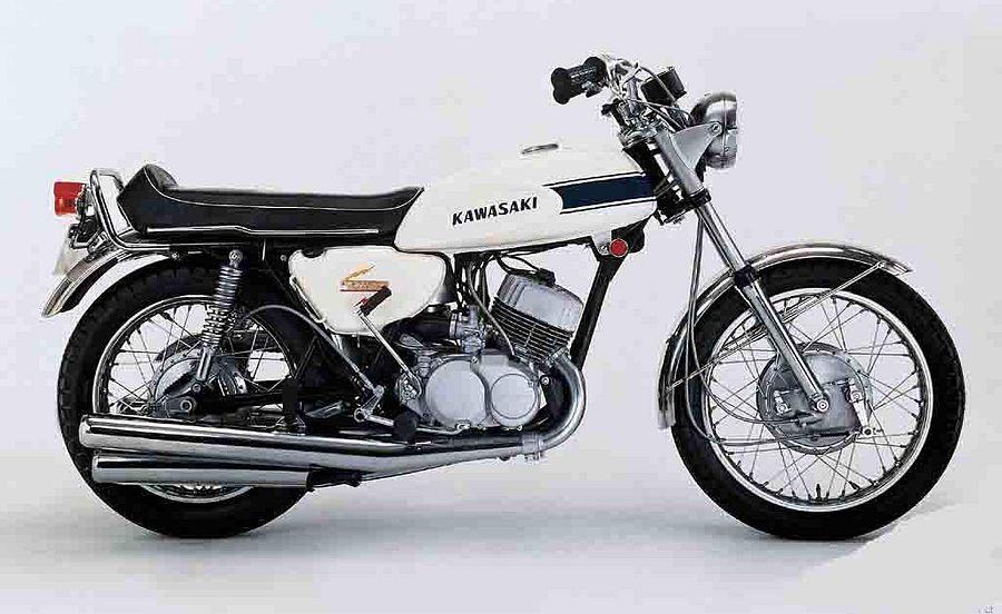 Kawasaki H1 500 Mach III (1970-71