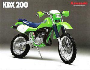 Kawasaki KDX200 (1984-85)