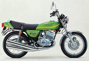 Kawasaki KH 400 (1976)