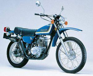 Kawasaki KL 250 (1978-79)