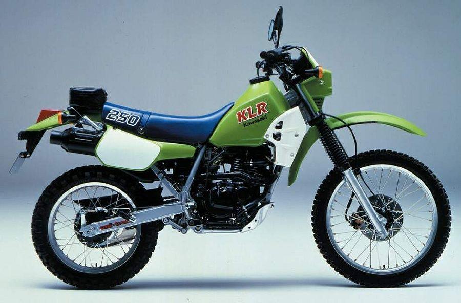 Kawasaki KL250R (1984-86) - MotorcycleSpecifications com