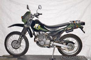 Kawasaki KL250 Super Sherpa (2003-06)
