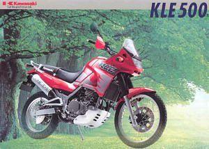 kawasaki KLE500 (1996-98)