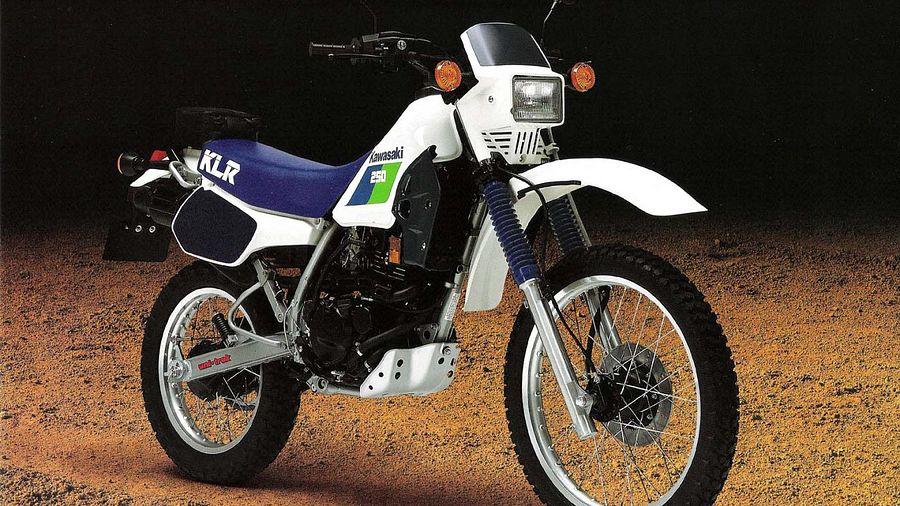 Kawasaki KL250R (1989-90) - MotorcycleSpecifications com