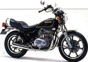 Kawasaki Z400 LTD (1979-80)