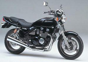 Kawasaki Zephyr 400 X (1998-00)
