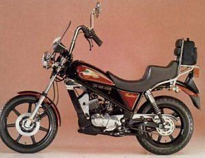 Laverda CU 125 Ride (1985)