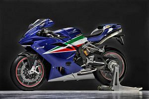 MV Agusta F4 Italian Aerobatic Team Special Edition (2011)