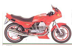 Moto Guzzi Le Mans 1000 Mark V (1988-89)