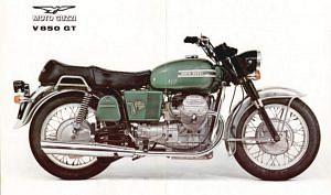 Moto Guzzi 850GT (1970-71)